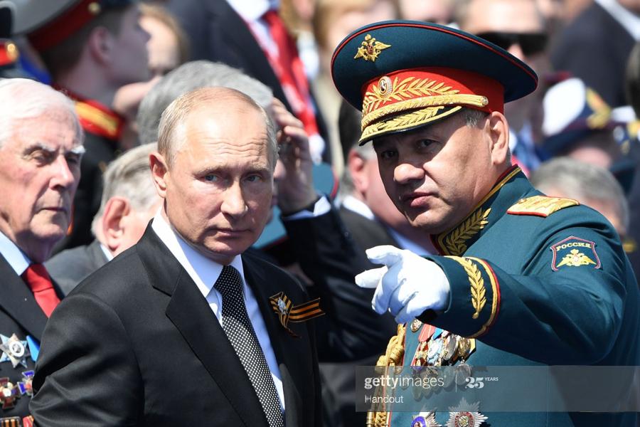 Shoigu-Putin