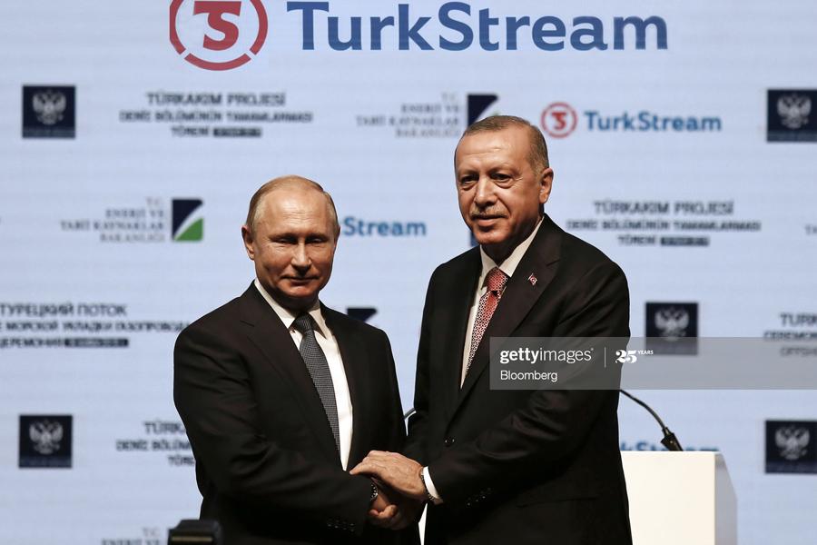 О ятагане Эрдогана в самое больное место Путина TurkStream