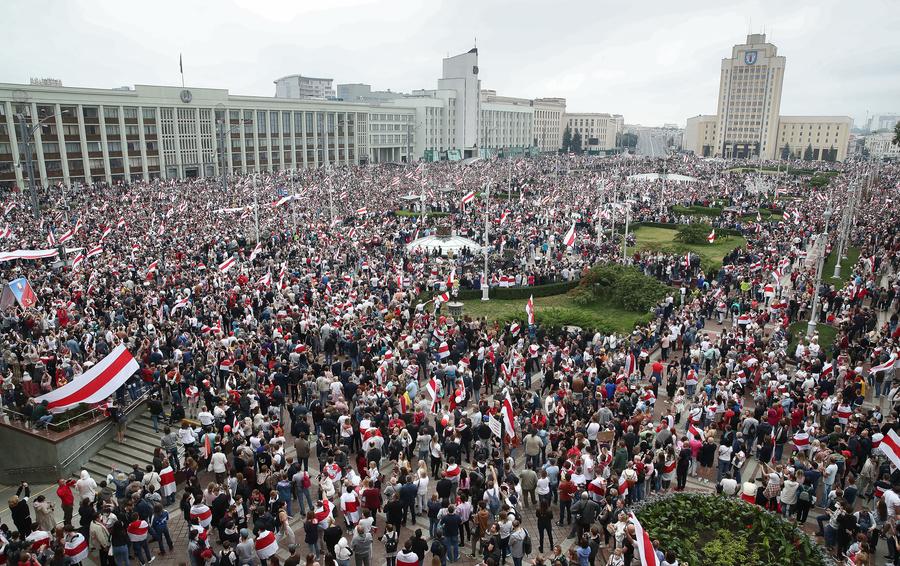 Minsk protesty 23-08-20