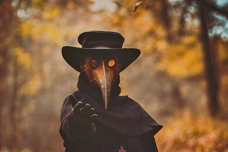 О ношении масок в эпоху CoVID-19: убойная статистика Plague doctor