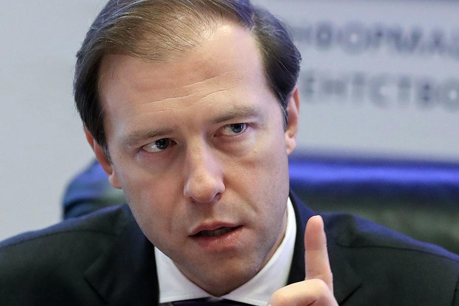 О благе девальвации рубля Manturov