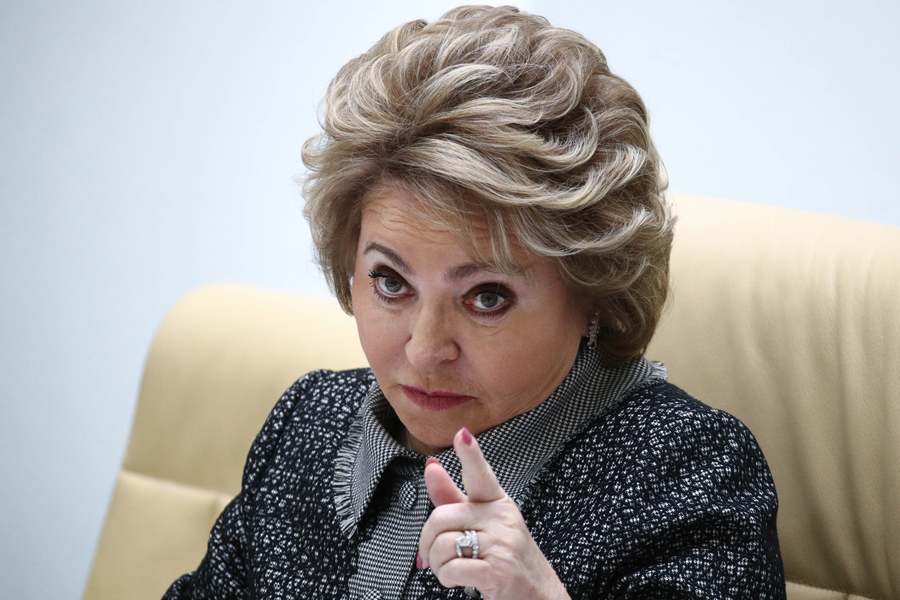 Об узаконивании «поводков», «ошейников» и «намордников» для россиян Matvienko-Finger