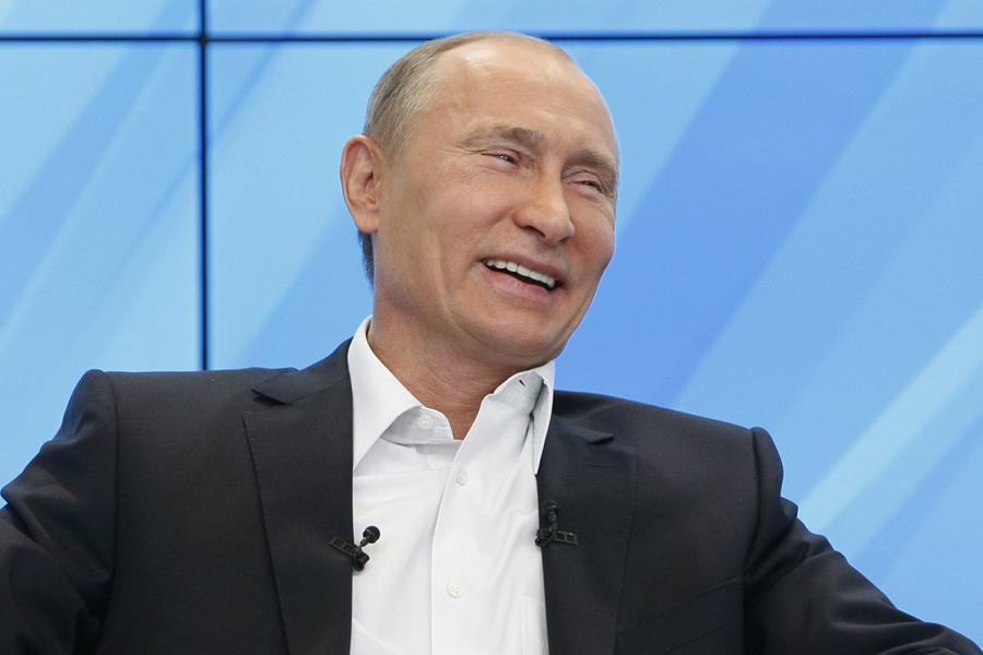 Putin-Laugh