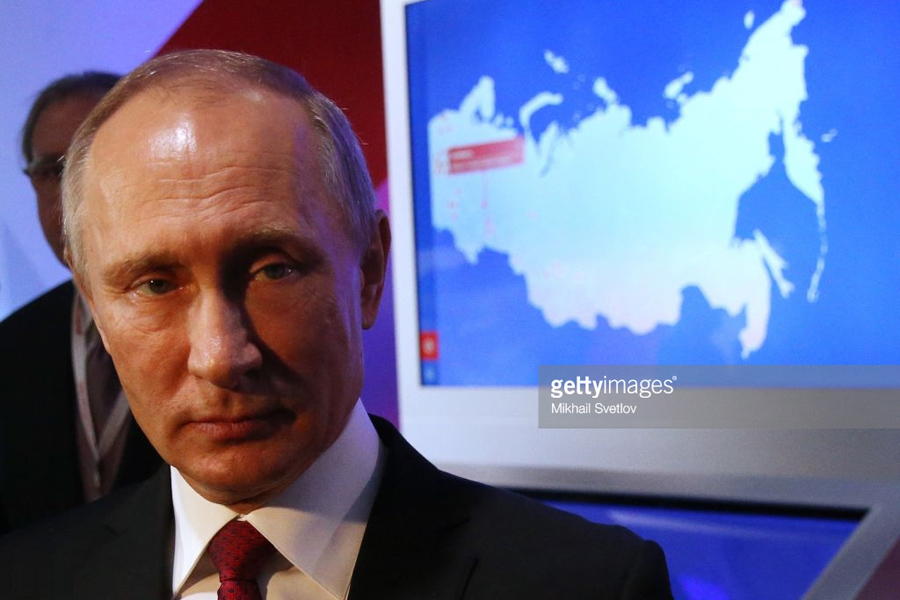 Putin-Russia-Map