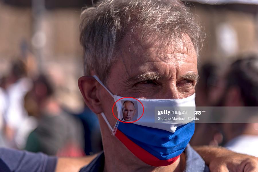 Putin-on-mask