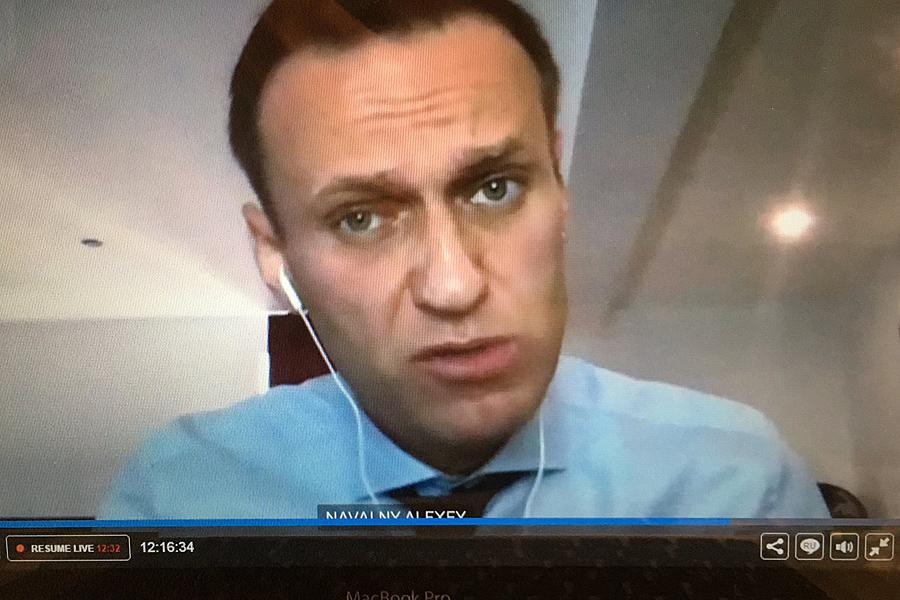 О шокирующем разоблачении агента Навального nav-TV