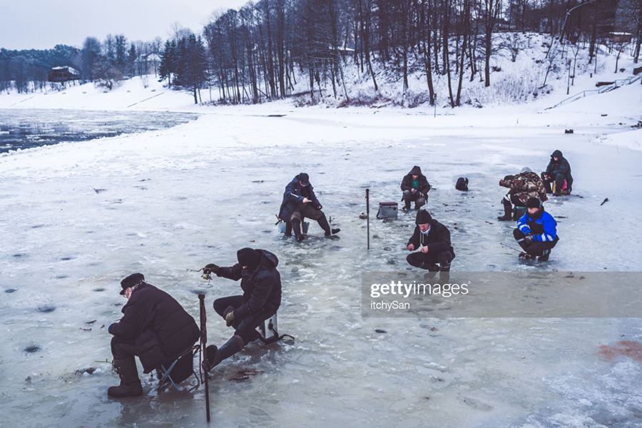 Fishing-on-Ice