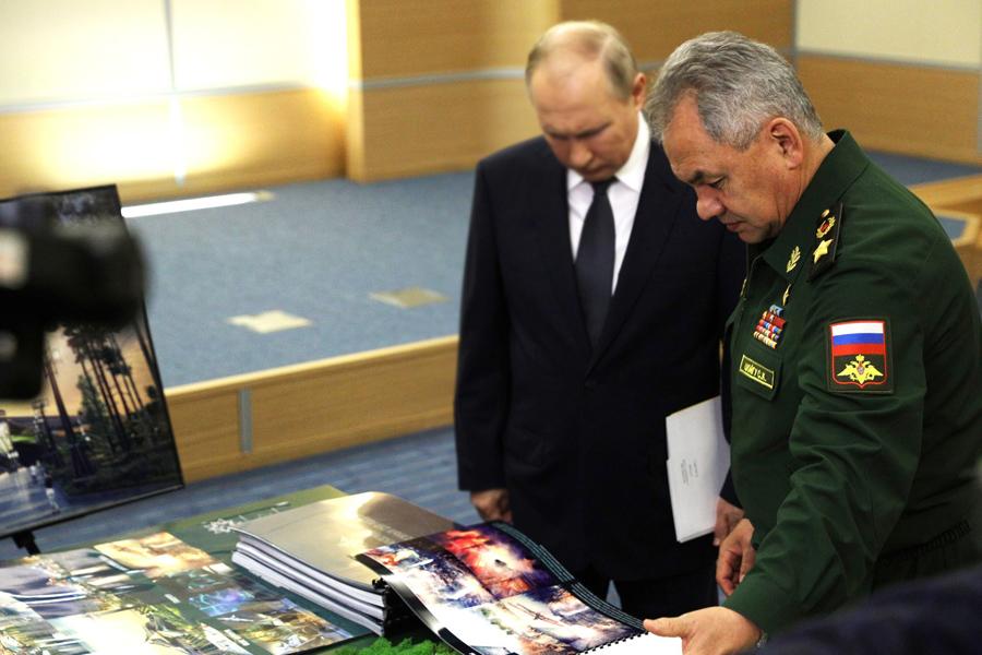 Shoygu-Putin