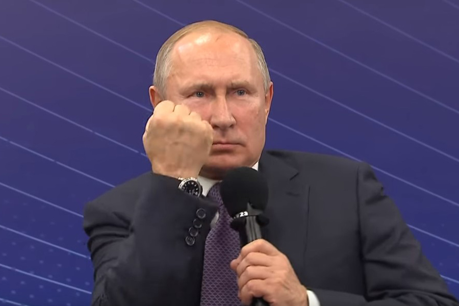 Fisting-Putin