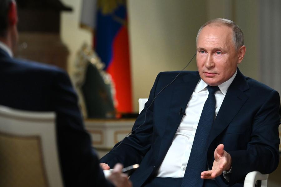 Interview-Putin