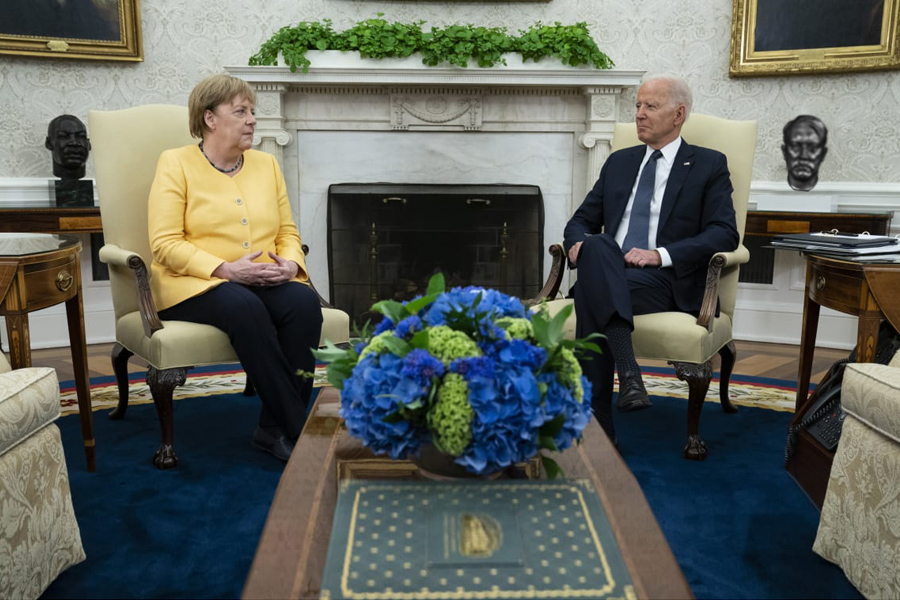 Merkel-Biden-U