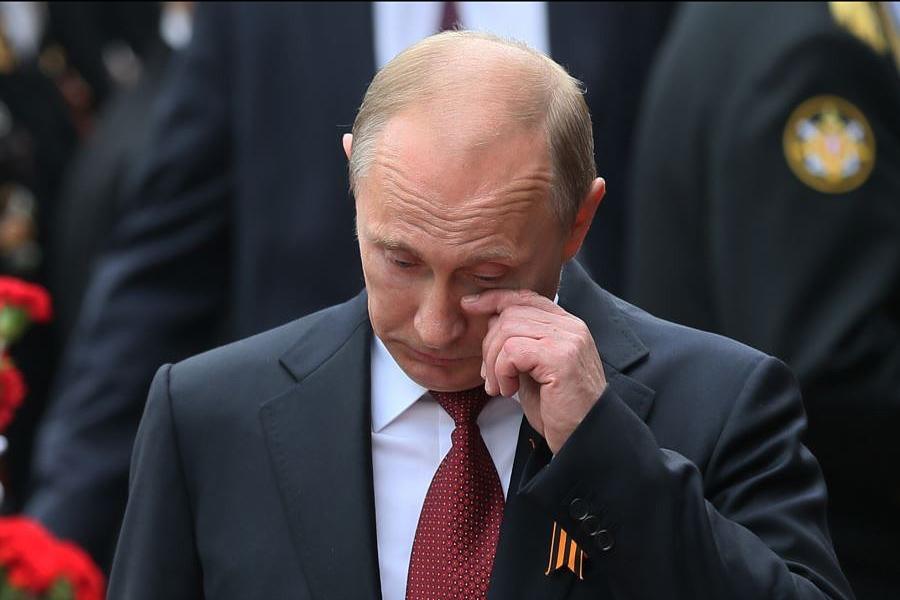Tears-Putin