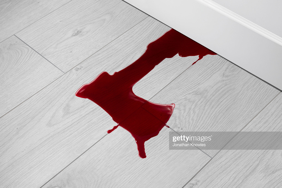 Axe shaped blood