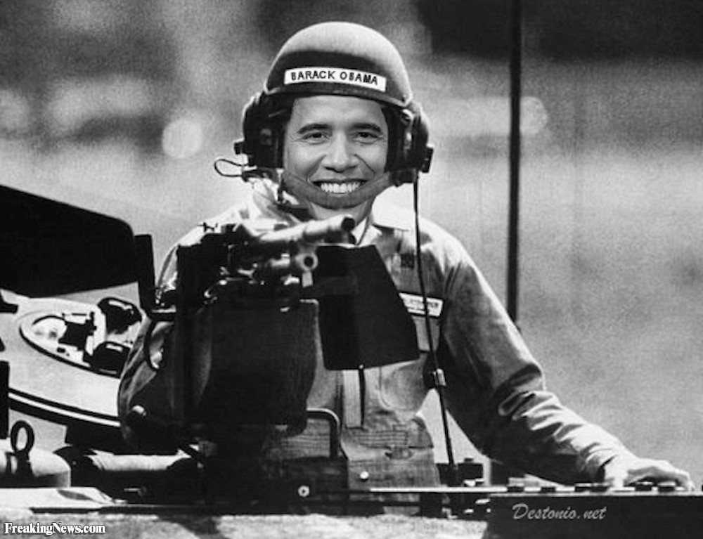 Obama-the-Tank-Driver