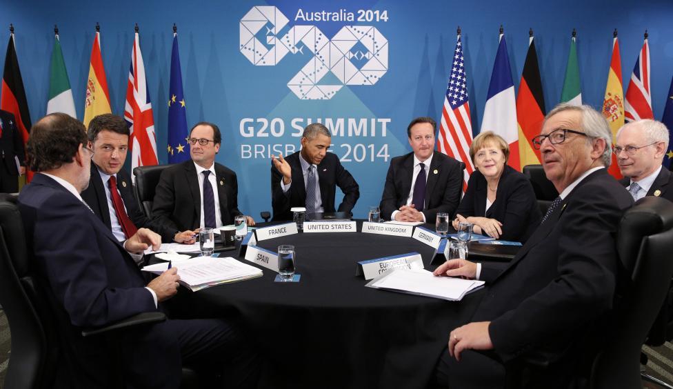 European leaders discuss Ukraine
