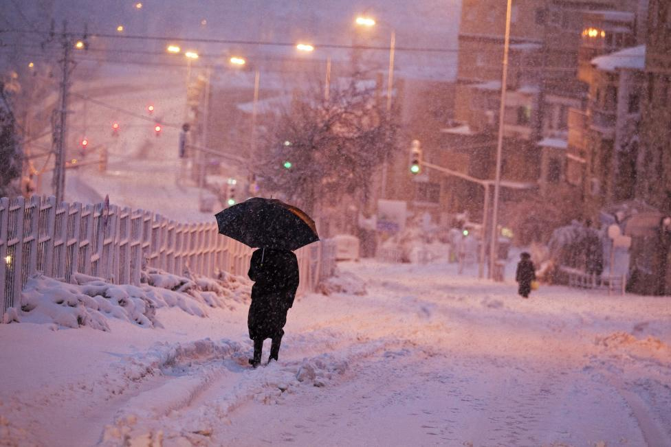 SnowJerusalem