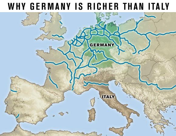 Europe-rivers