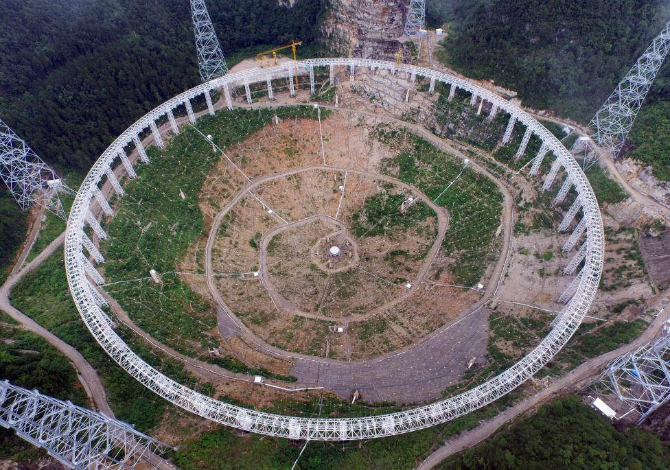 China_aperture spherical telescope