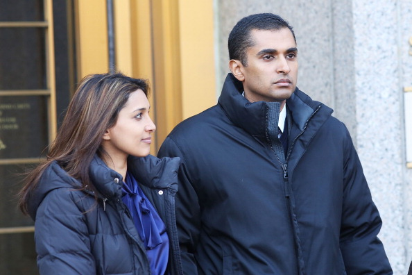 Mathew Martoma exits a New York federal court