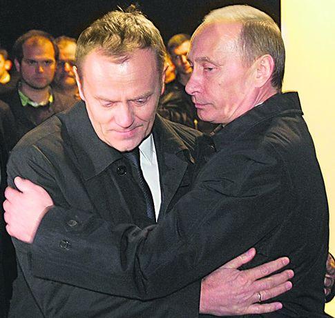 Путин и Туск