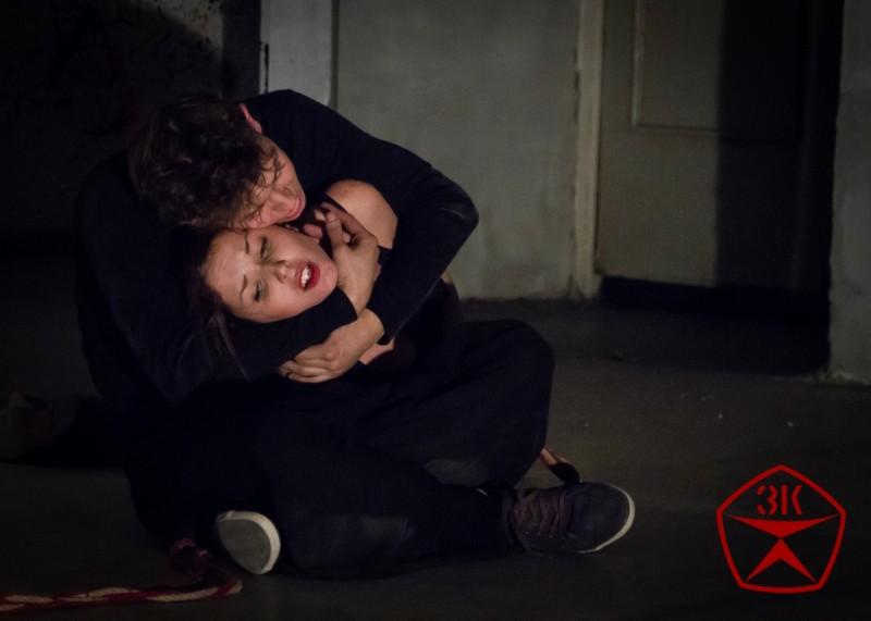 Манюшка (Татьяна Филиных) и Херувим (Семен Барков). Источник фото: сайт http://www.bpstd.ru/