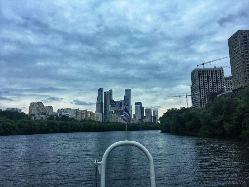 Вид на Москву-Сити