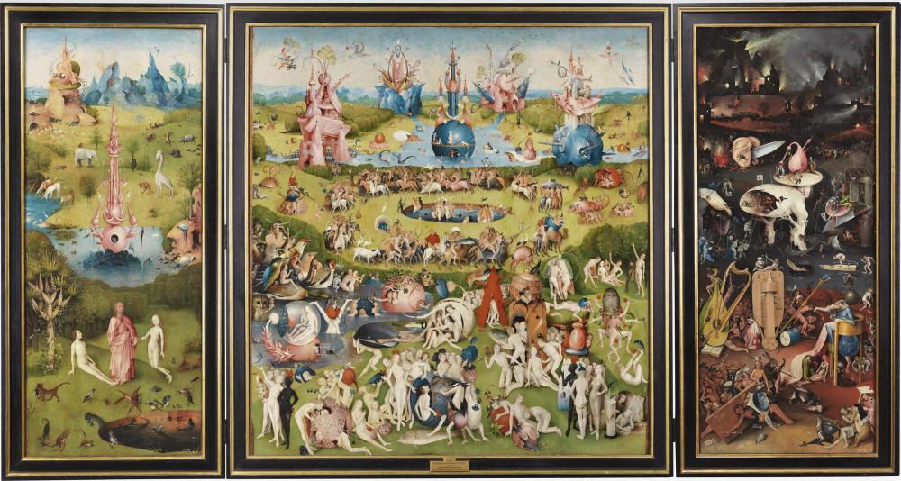 """""""Сад земных наслажений"""" (1500-1510 гг.), Иероним Босх"""