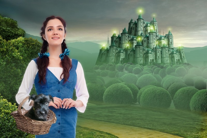 Евгения Медведева в роли Дороти