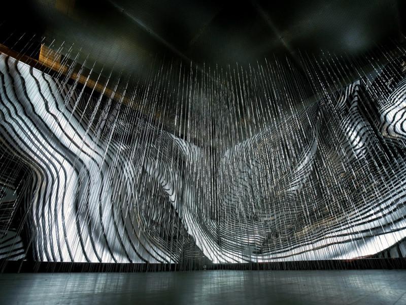 Андрей Бергер The Flow 2017 Инсталляция