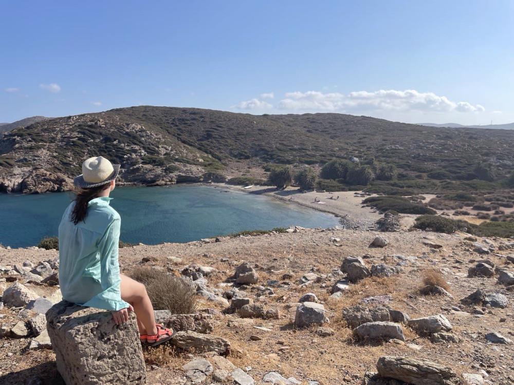 Крит, вид на восточный пляж Итанос