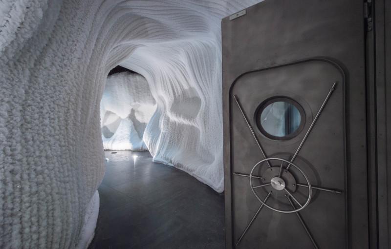 Ледяная пещера — парк Зарядье