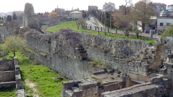 Херсонес-стены