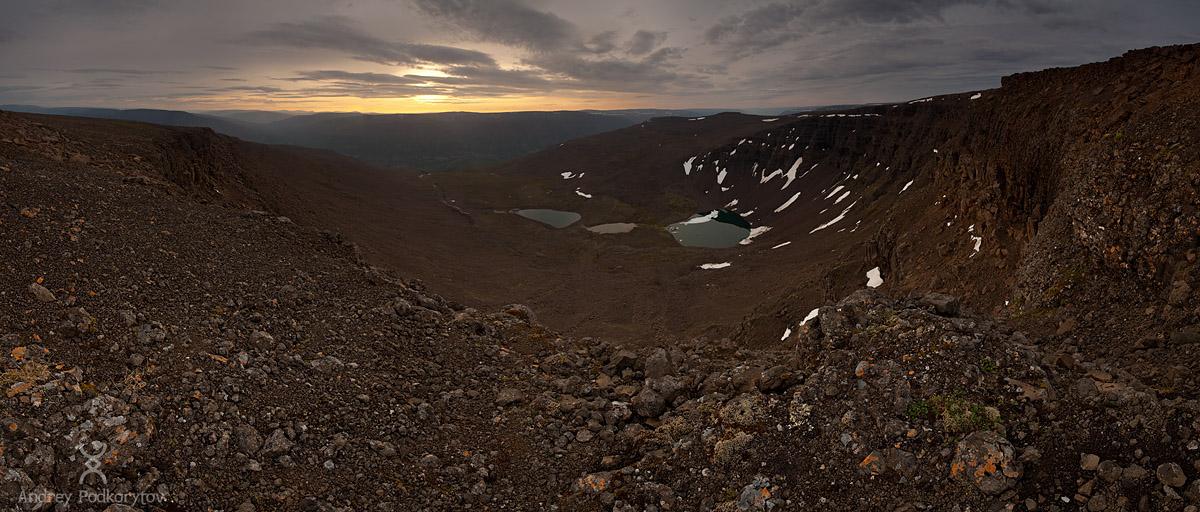 Одиночный трёхнедельный поход по плато Путорана