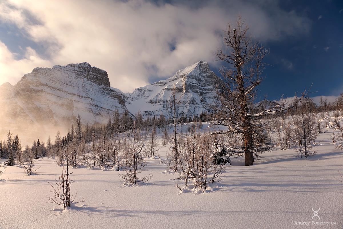 Национальный парк Банф. Канадские Скалистые горы.