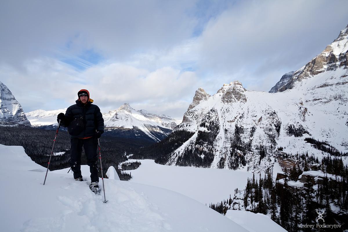 Автопортрет. Озеро Lake O'Hara. Национальный парк Yoho. Канадские Скалистые горы.
