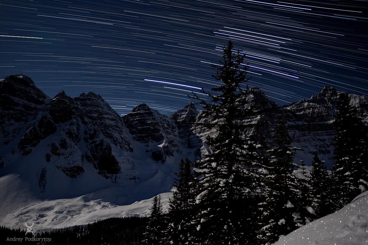 Долина Десяти пиков. Национальный парк Банф. Канадские Скалистые горы.