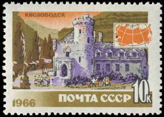 """Замок """"Коварство и любовь"""" Ю. Левиновский, 1966"""
