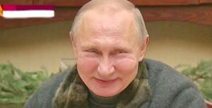 Putin-smile