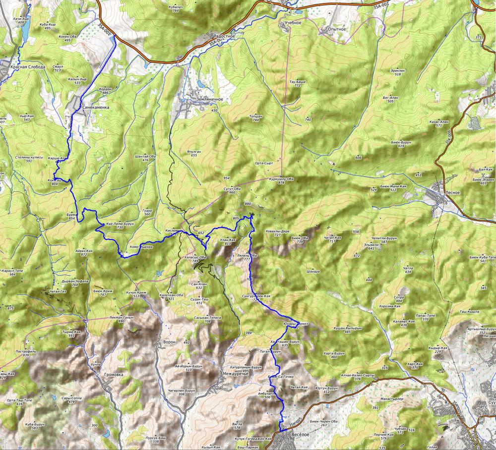 Карта-1400