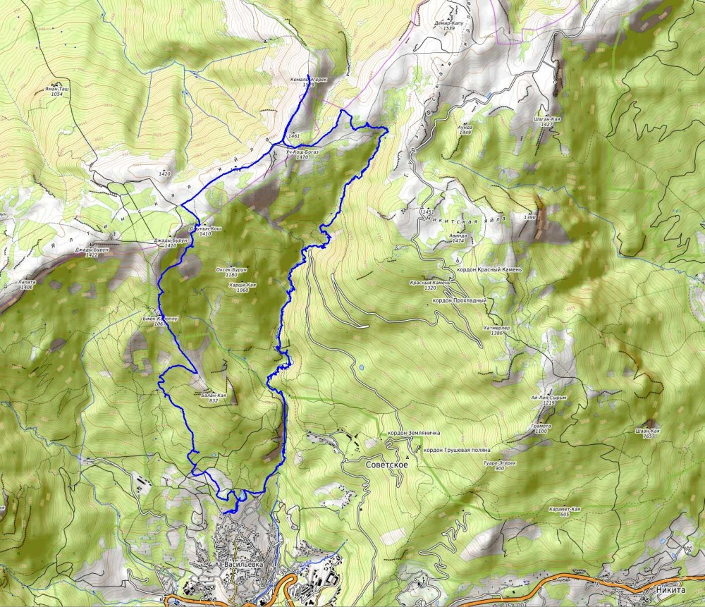 Карта-1300