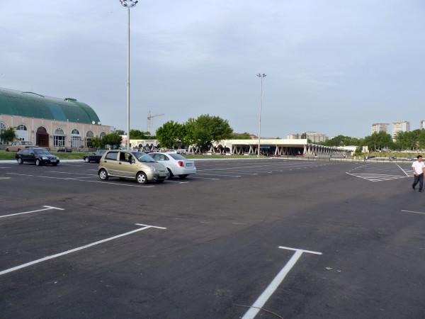 13. Алайский рынок после сноса, 2011 год 2
