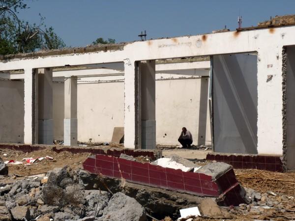 17. Снос Фархадской ярмарки, 2011 год