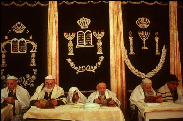 4 Пинхасов. Ташкент, синагога га Чкалова, 1988