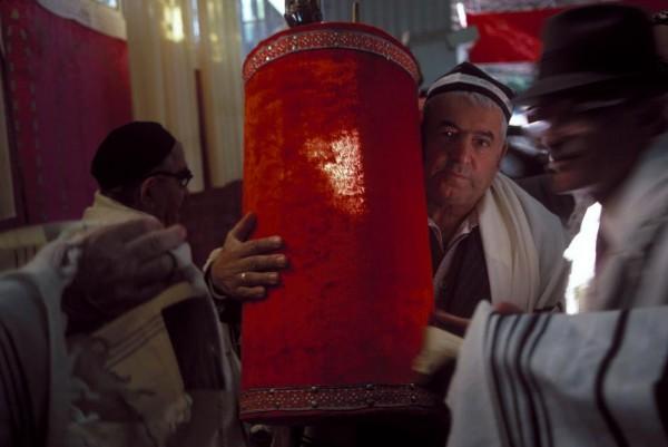 6 Пинхасов, Ташкент, синагога на Чкалова, 1988  1