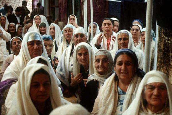 23 Пинхасов, синагога на Чкалова, женская секция, 1988 23