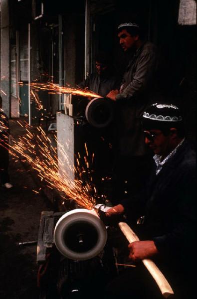 51 Пинхасов. Самарканд, 1988. Еврейская община