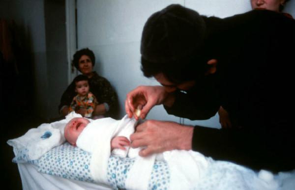 57 Пинхасов, Узбекистан, Самарканд, обрезание, 1988 (еврейская община)