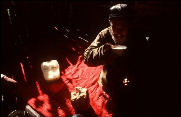 62 Пинхасов. Смотритель кладбища в Самарканде, 1988. Еврейская община