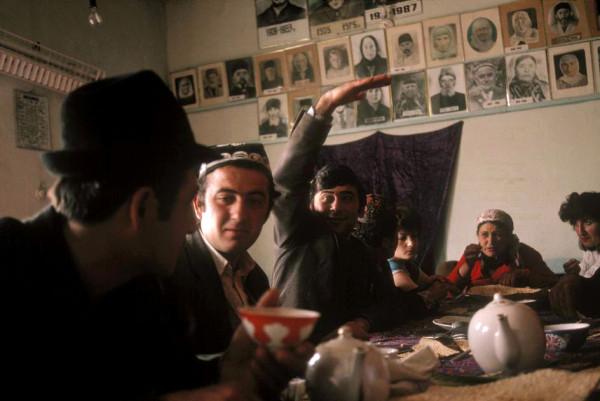 64 Пинхасов, Узбекистан, Кермине, 1988 (еврейская община)