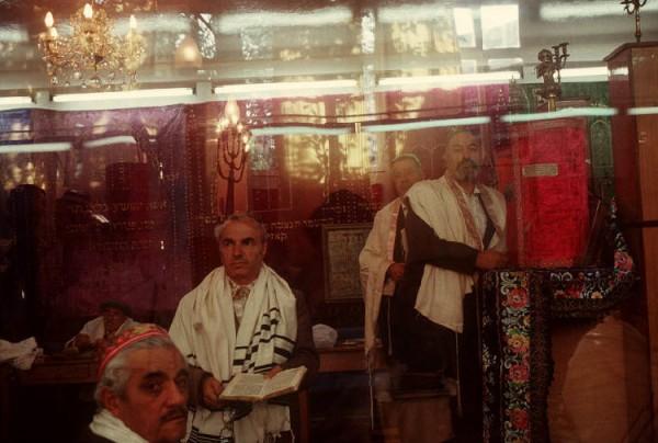 9 Пинхасов, синагога в Ташкенте на Чкалова, 1988